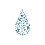 Waterdrop Royalty Free Stock Photos