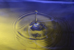 Waterdrop royaltyfria bilder