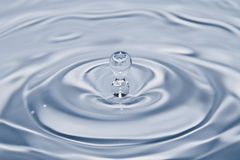 waterdrop 图库摄影