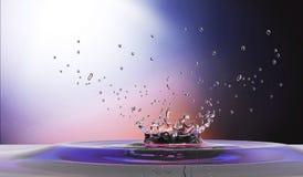 Waterdrop background Stock Photos