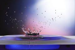 Waterdrop background Stock Photo