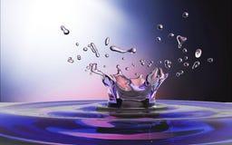 Waterdrop background Royalty Free Stock Image