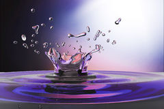 Waterdrop background Stock Photography
