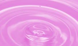 Waterdrop coloreado imágenes de archivo libres de regalías