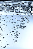 Waterdrops élevés de définition Photos stock