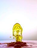 Waterdrops цвета вступают в противоречия один другого Стоковые Фотографии RF