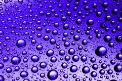 Waterdrops Photo stock