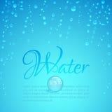 Waterdrops Fotografía de archivo