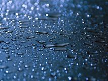 Waterdrops. Closeup royalty free stock photos