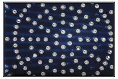 Waterdrops en el azul Fotos de archivo