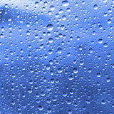 Waterdrops on a glass Royalty Free Stock Photo