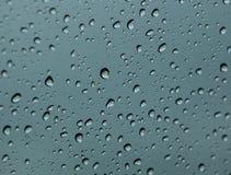 Waterdrops Hintergrund Lizenzfreies Stockbild