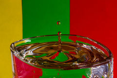 Waterdrops nationaux lithuaniens Photo stock