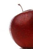 Waterdrops op een appel royalty-vrije stock fotografie
