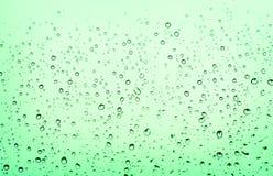 Waterdrops på fönster Arkivbilder