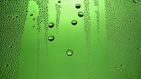 Waterdrops stock footage