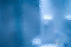 Waterdrops sobre el vidrio Imagen de archivo libre de regalías