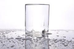 Waterdrops sulla tavola Fotografia Stock