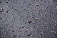 Waterdruppeltjes stock foto's