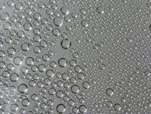 Waterdruppeltjes (achtergrond) Stock Afbeelding