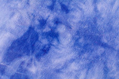 Watered denim fabric Royalty Free Stock Photos