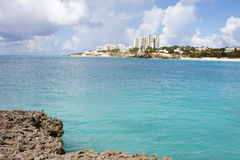 Wateren van St. Martin/St. Maarten Royalty-vrije Stock Afbeelding