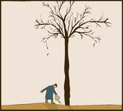 Waterer δέντρων Στοκ φωτογραφία με δικαίωμα ελεύθερης χρήσης