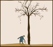 Waterer d'arbre Photographie stock libre de droits