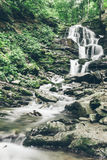 Waterfal in deep forest Stock Photography