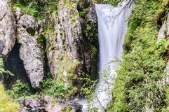 Waterfal na floresta Imagem de Stock Royalty Free