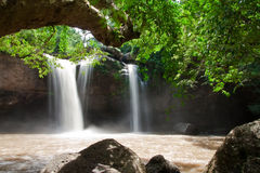 Waterfal in Thailand Stock Photos