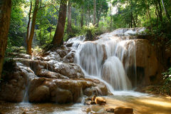Waterfal. This is a waterfall in Chiang Rai at Thailand stock image