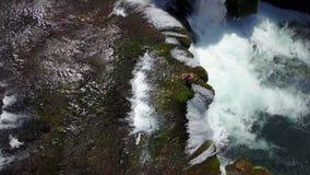 Waterfall - Štrbački buk. Štrbački buk is a 24 m high waterfall on the river Uni near the village of Kulen Vakuf and Orašac, which is located near the Royalty Free Stock Photography