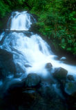 Waterfall 01. Cascades in Sheppard's Dell,Columbia River Gorge,Oregon,USA royalty free stock photo