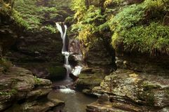 Waterfall 1 Royalty Free Stock Photo