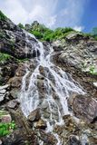 Waterfall. Small waterfall in Fagaras mountains, Romania Royalty Free Stock Image