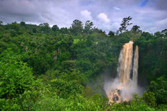 Waterfall. Africa. Kenya. beauty of nature stock images