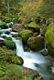 Waterfall. Was take in Germany in a Black forest royalty free stock photography