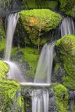 Waterfall. Taken with slow shutter speed Royalty Free Stock Images