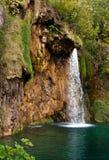 Waterfall. And lake at Plitvice Lakes, Croatia Stock Photography