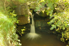 Waterfall. A hidden water at Wycollar Stock Photography