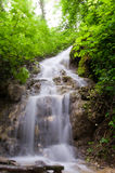 Waterfall. In the national park Royalty Free Stock Photography