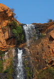 Waterfall. In botanical garden in South Africa Royalty Free Stock Photo