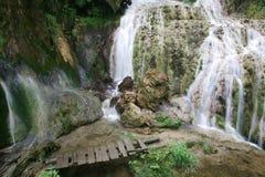 Waterfall. Cascade waterfall in bulgaria mountain Royalty Free Stock Photos