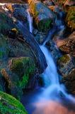 WaterFall. A small Water-fall in Hong Kong river royalty free stock photography
