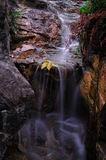 WaterFall. A small Water-fall in Hong Kong river royalty free stock images