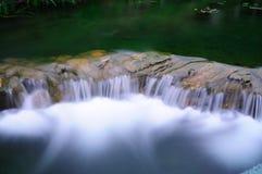 WaterFall. A small Water-fall in Hong Kong river stock photo