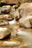 WaterFall. A small Water-fall in Hong Kong river royalty free stock photo