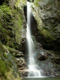 Waterfall. Cascade du moulin, jura, france Royalty Free Stock Image