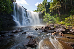 Waterfall. In national park image Royalty Free Stock Images